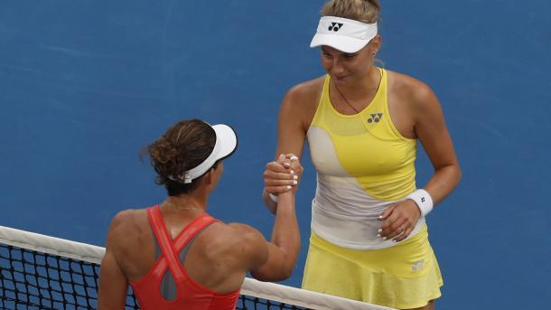 18-летняя украинка Ястремская вышла в третий раунд Australian Open