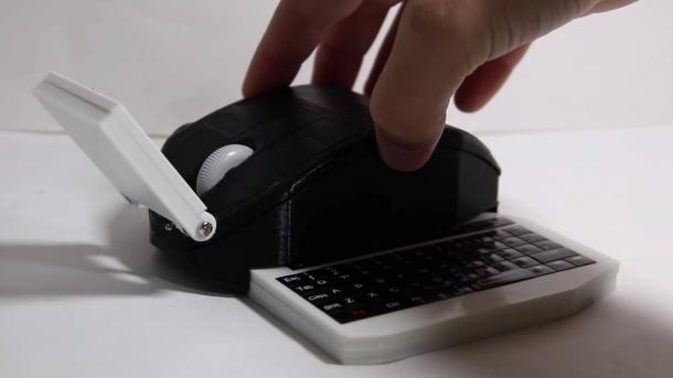 Инженер создал мини-компьютер на основе мышки. Что он умеет
