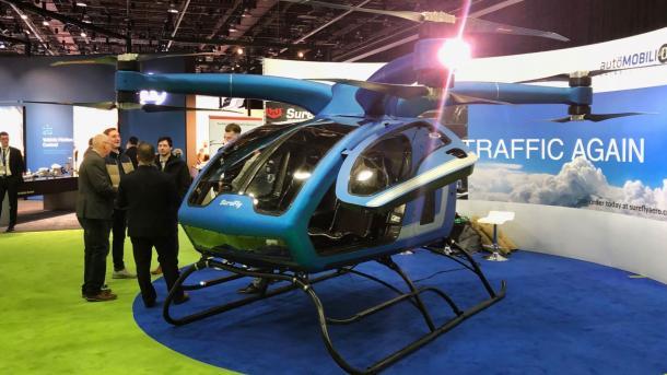 Пассажирский дрон: инженеры показали мини-вертолет за $ 200 тысяч