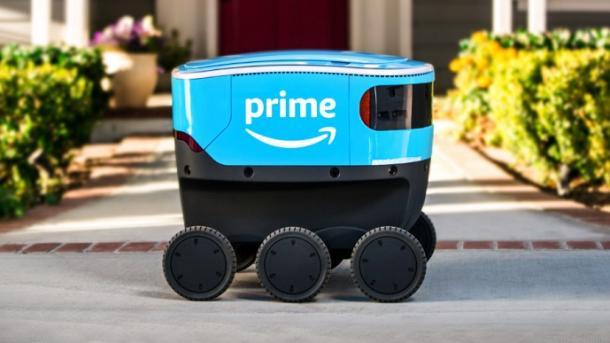 Доставку покупок с Amazon теперь осуществляет и робот-курьер. Как это работает