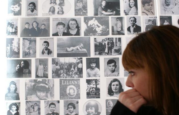 В парижском Музее Холокоста (Mémorial de la Shoah Paris)