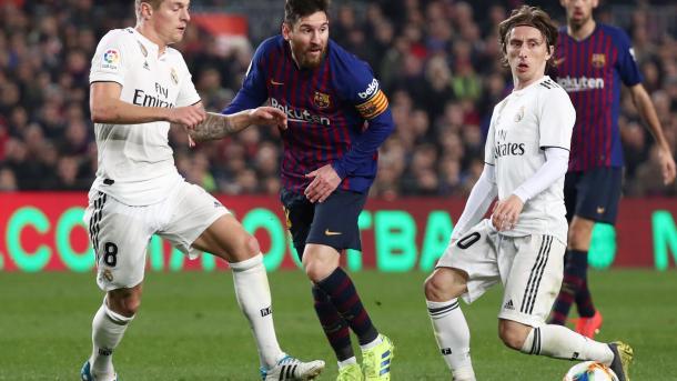 """""""Барселона"""" и """"Реал"""" сыграли вничью в Кубке Испании"""