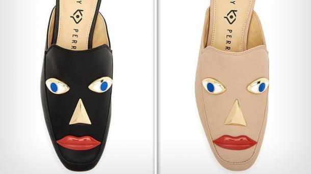 Кеті Перрі звинувачують у расизмі: її бренд випустив чорні туфлі з обличчям людини