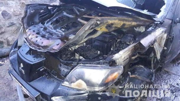 В Ірпiні спалили автівку місцевого депутата та ще одне авто