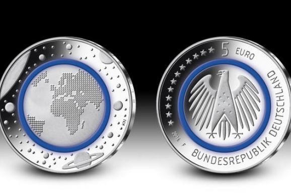 5 евро 2016 года