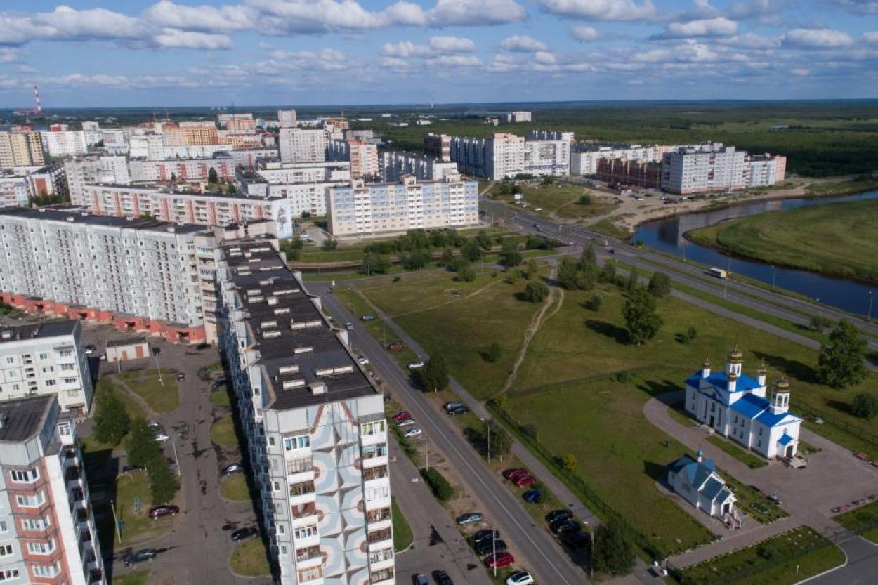 Северодвинск. Вид на город