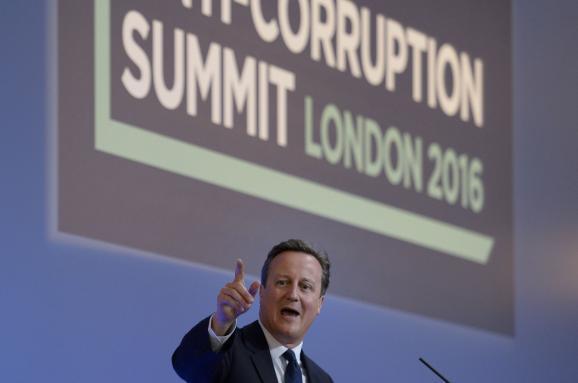 Дэвид Кэмерон антикоррупционный саммит Лондон