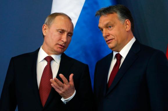 Володимир Путін та Віктор Орбан