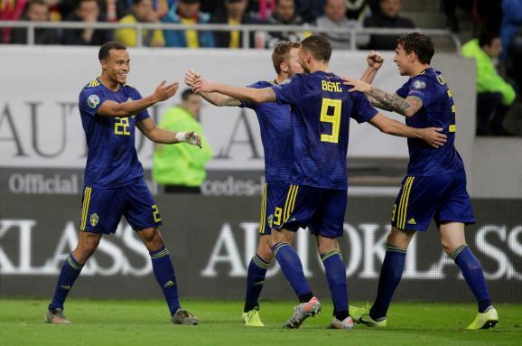 Евро-2020: благодаря победе над румынами Швеция гарантировала участие в турнире