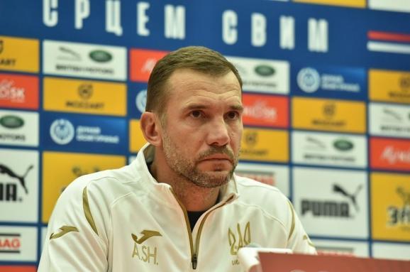 Шевченко пояснив, навіщо збірній України брати очки у матчі з Сербією