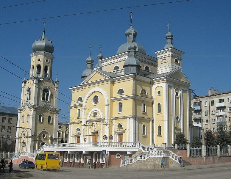 Церква Успіння Пресвятої Богородиці. Тернопіль