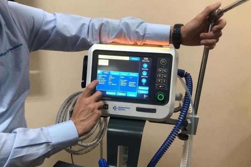 Апарат штучної вентиляції легень (ШВЛ)