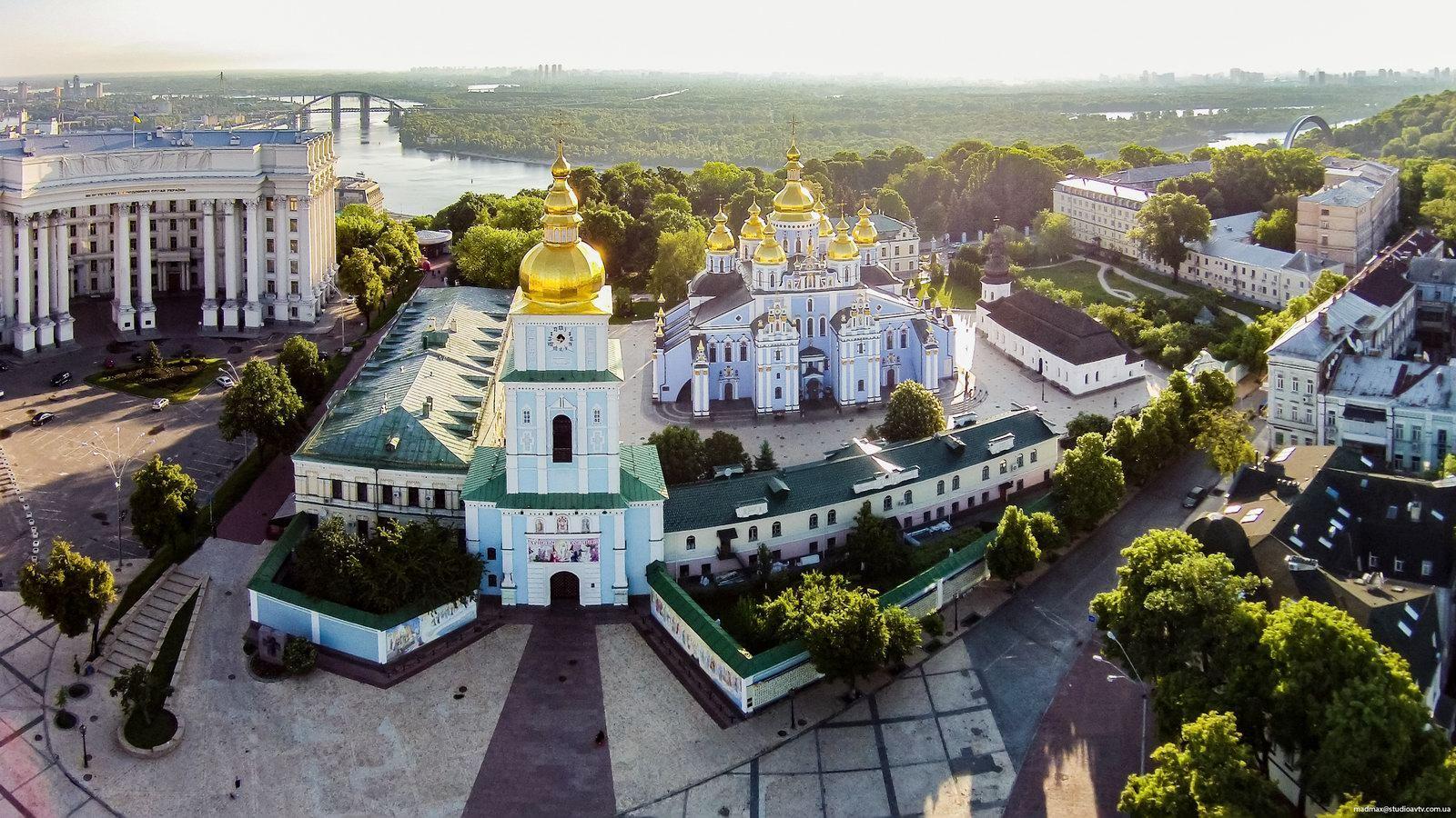 Михайлівський Златоверхий собор - один з символів Києва