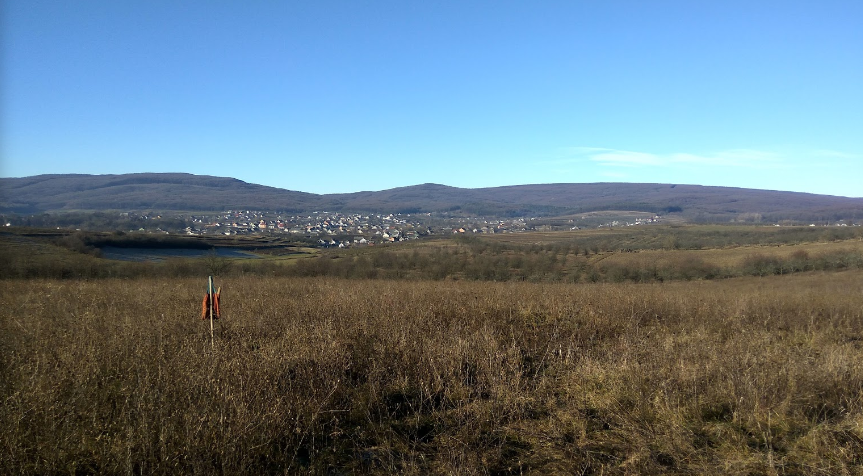Панорама села Чорнівка