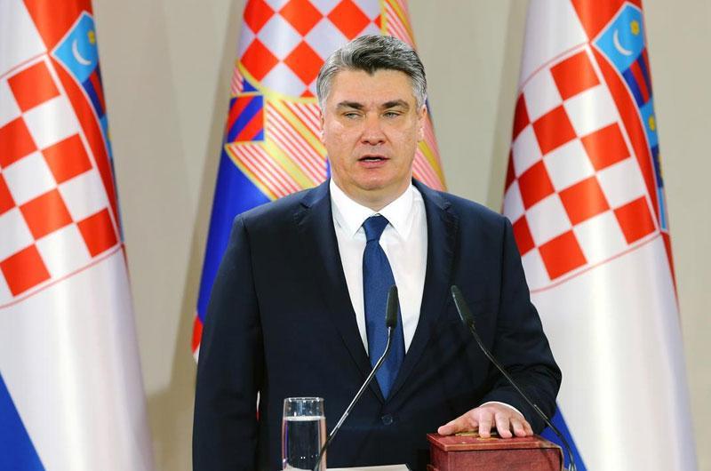президент Хорватії Зоран Міланович