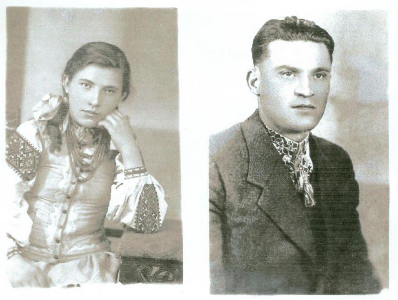 Марія Бабінчук і Григорій Вацеба