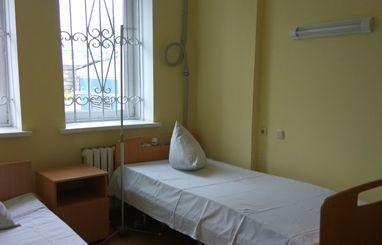 Внутри больницы №7. Луганск