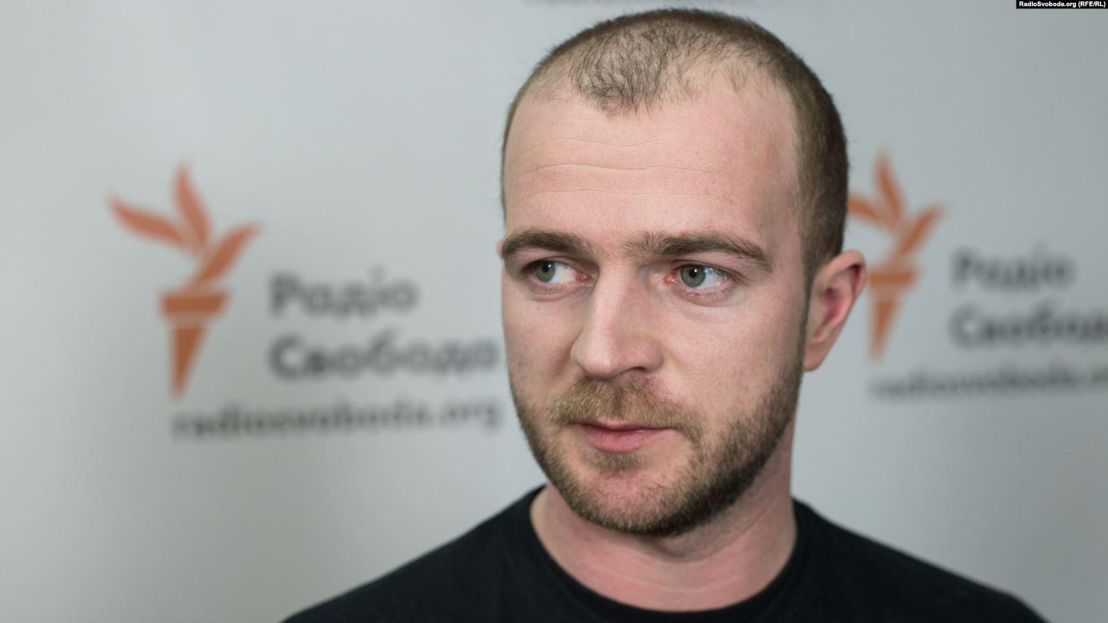 Волонтер Андрій Римарук