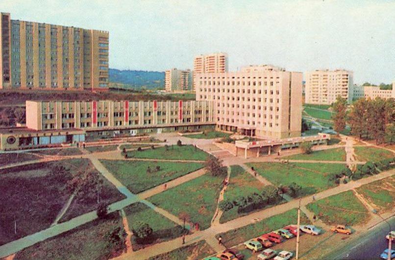 Поліклініка у 1980-х роках
