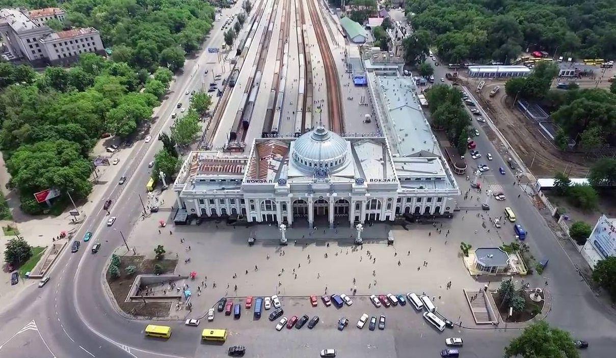 Железнодорожный вокзал в Одессе