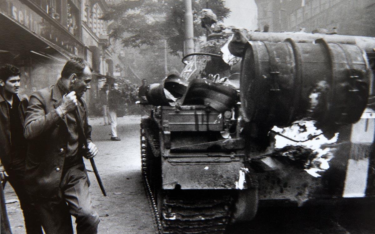 Бої під будівлею празького радіо. Серпень 1968 року