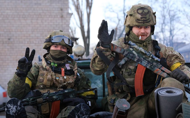 "Українські воїни-добровольці з ""Азову"""