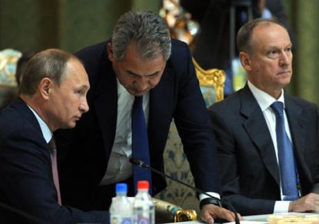 Путин, Шойгу, Патрушев