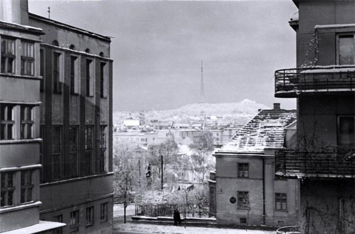 Біла казка: як виглядав Львів зимою 60 років тому