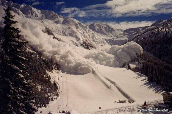 У Карпатах сніголавинна небезпека: Як вижити під час сходження лавини (інфографіка)