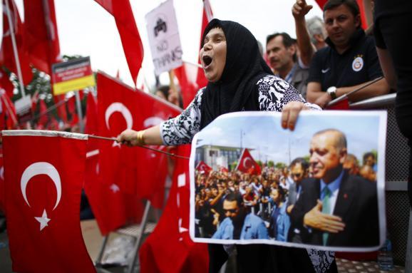 Ердоган мітинг підтримки