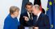 Меркель, Путин, Макрон