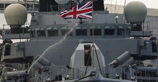 Британія бойові судна