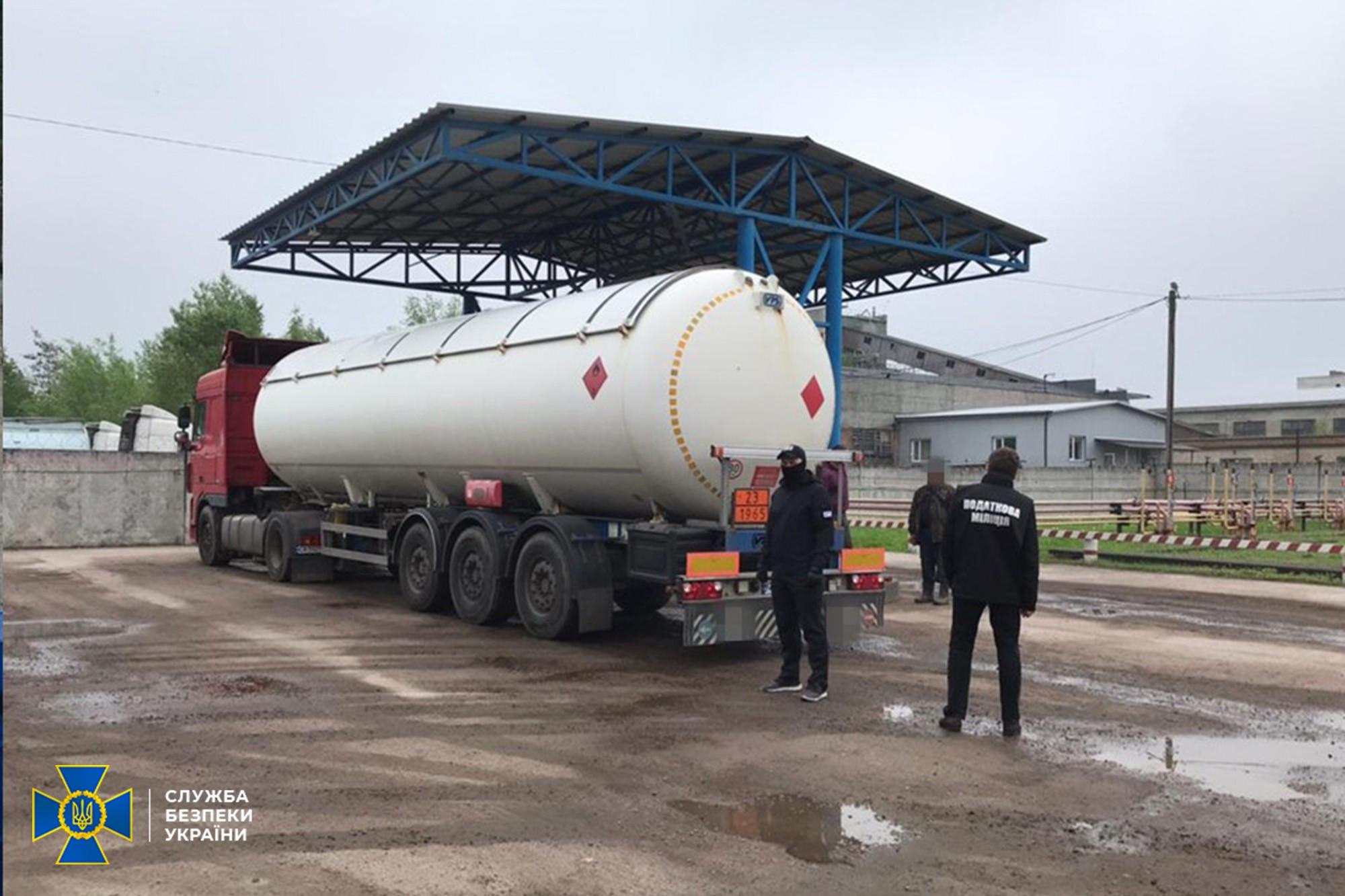 СБУ ліквідувала контрабанду пального з РФ та Білорусі