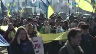 В Харькове вспомнили жертв теракта 22 февраля