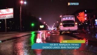 На ул. Маршала Гречко сбили человека