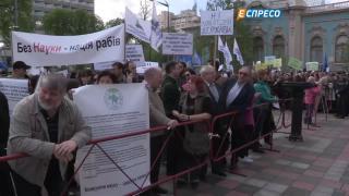 День в ВР: Что делали депутаты и митингующие