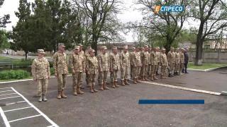 В Запорожье открыли новый военный городок