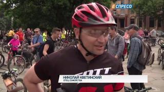 Велопарадом - по безопасности движения