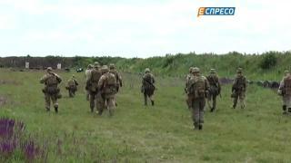 Спецназовцев обучают инструкторы НАТО