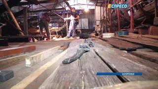 В Запорожье реставрируют корабли, которые пролежали на дне несколько веков