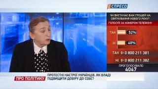 Про політику | Протестні настрої украінців. Як владі підвищити довіру до себе?
