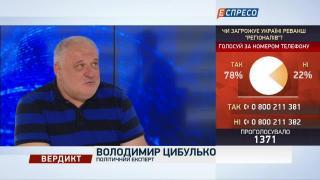 Вердикт з Сергієм Руденком   Володимир Цибулько