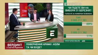 Вердикт з Сергієм Руденко | Ігор Попов та Олеся Яхно