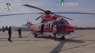 Поліцейський репортаж | Тренувальний політ на гелікоптерах