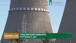 Правительство решило ограничить мощности АЭС