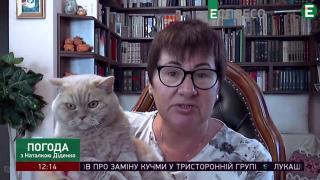 Синоптик Наталья Диденко сообщила, что в Украине ослабнет жара