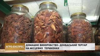 Домашнє виноробство: Донбаський теруар на місцевих  териконах